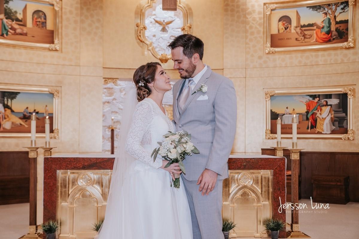 Mariana and Gerado Traditional Church and Backyard Wedding