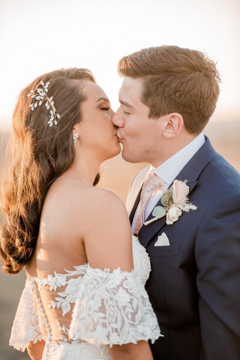 Wedding portrait at Harper Hills Ranch in San Antonio.