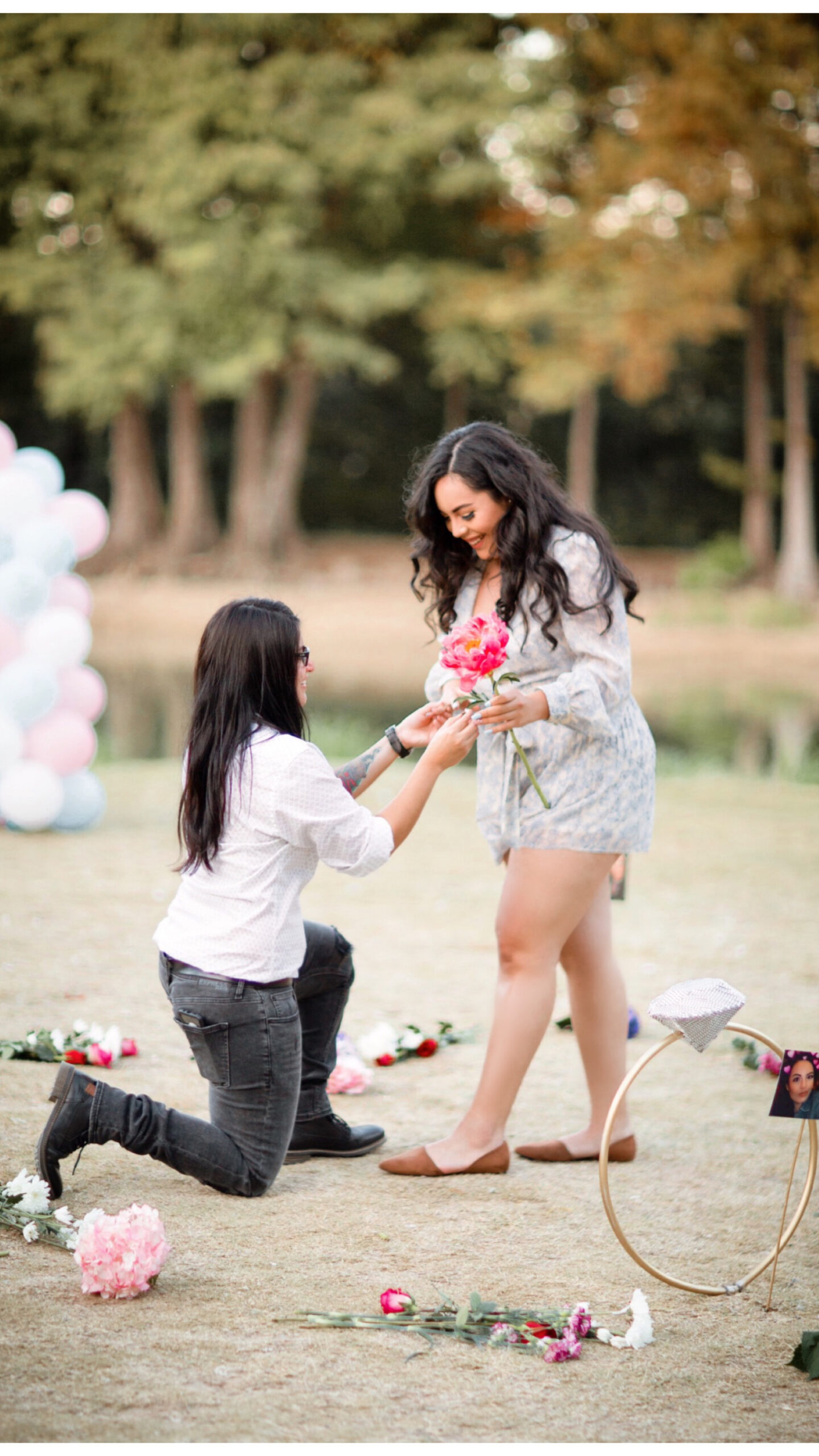 female proposal in San Antonio Weddings
