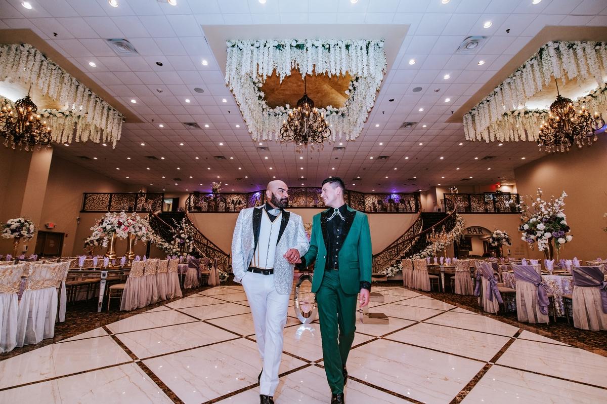 San Antonio wedding couple married at emporium by yarlen photos by jersson luna