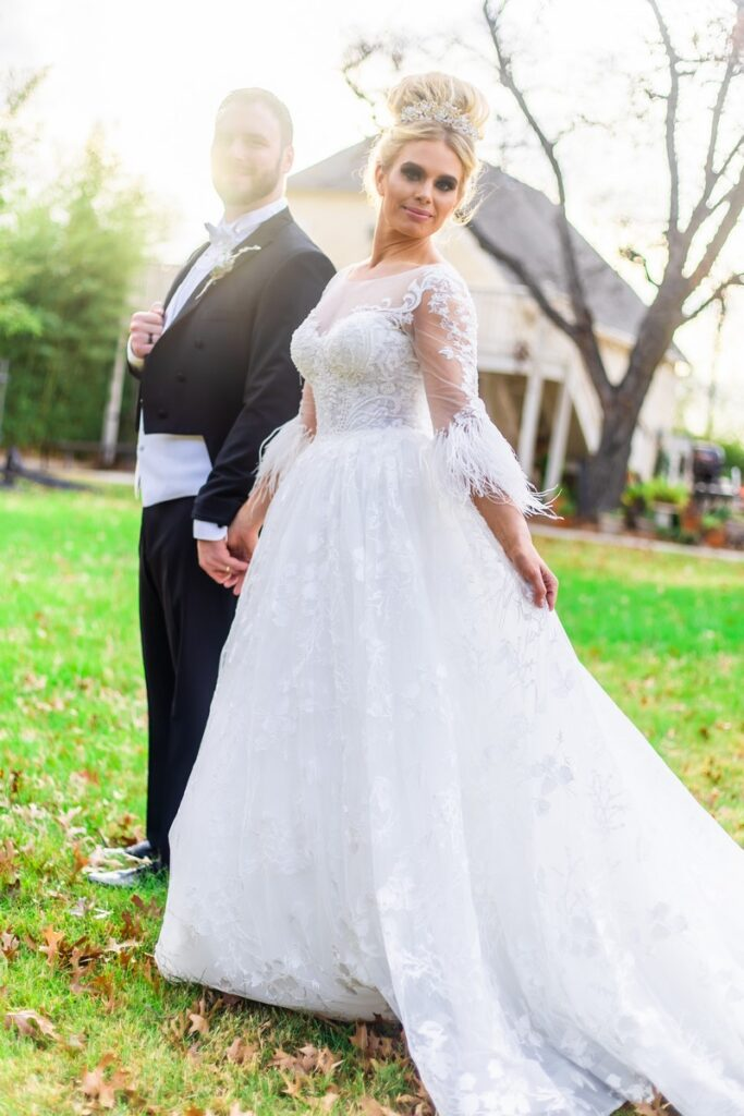 San Antonio Weddings Lambermont Styled Shoot featuring Rex Formal Wear and Bridal Connection