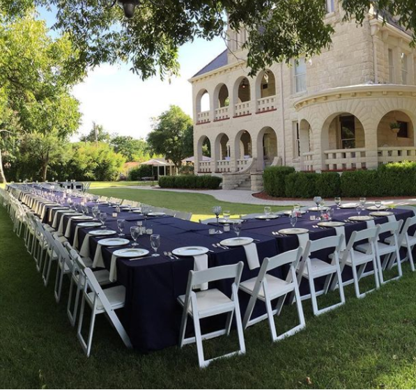 venues with outdoor reception space