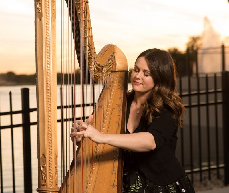 Local Harpist Brings A Magical Touch To Your Special Day