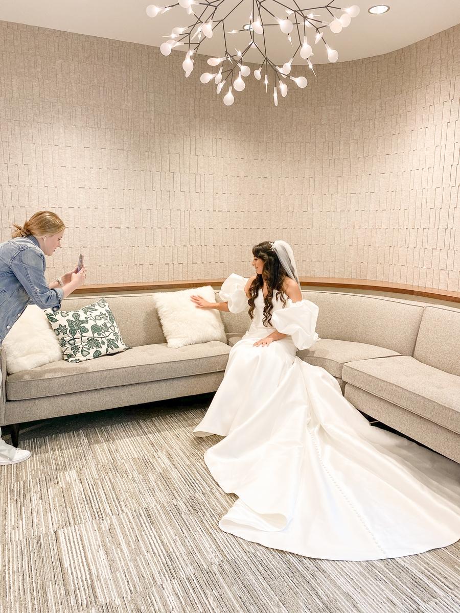 San antonio botanical gardens bridal suite