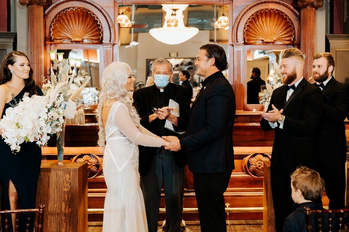 San Antonio weddings devils river Art Deco wedding
