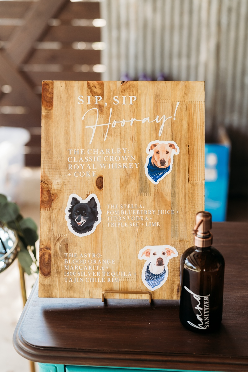 dog themed wedding inspiration at Harper Hill Ranch