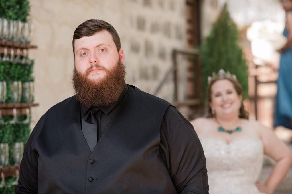 texas wildflower themed wedding in the texas hill country