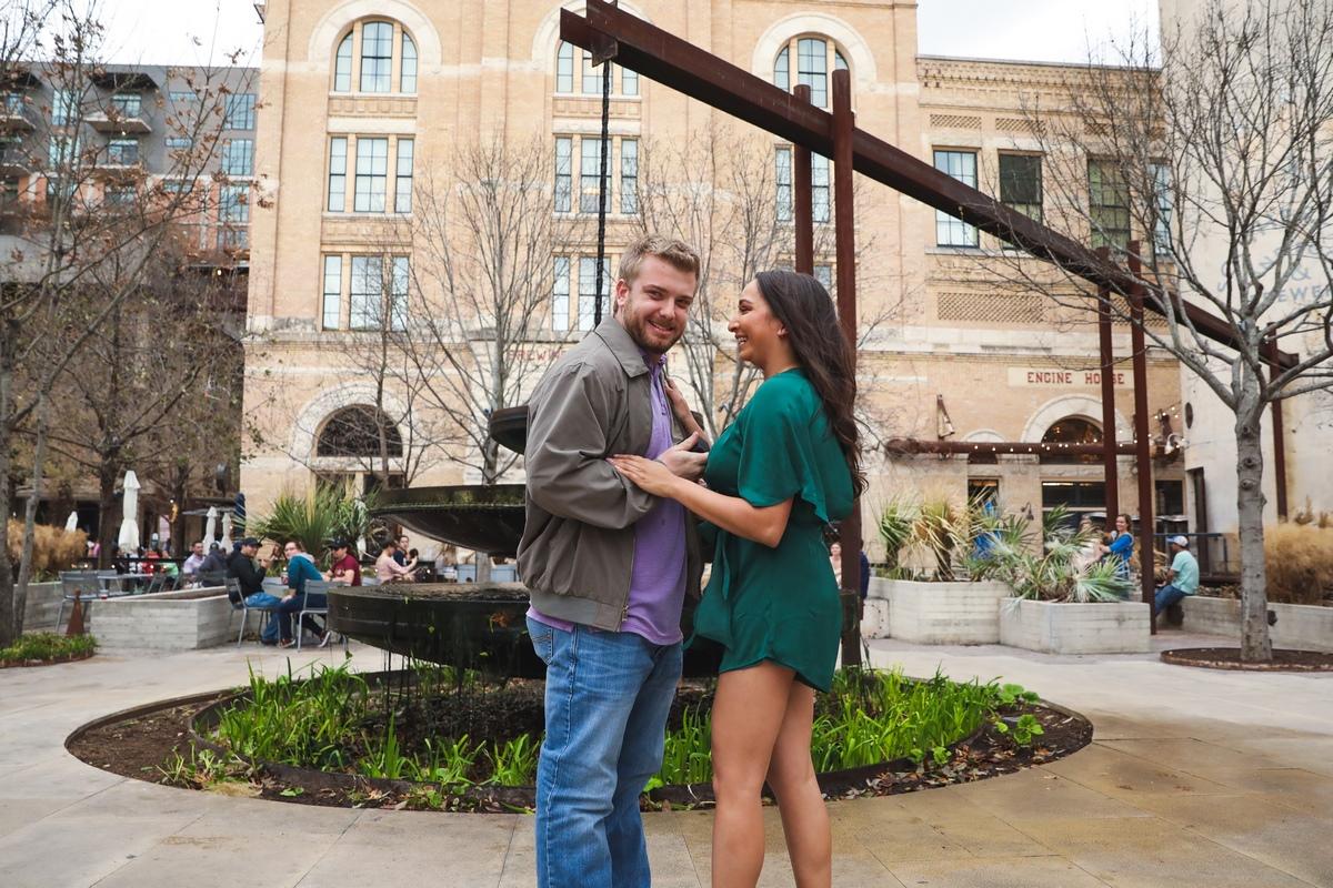 San Antonio texas proposal at the pearl