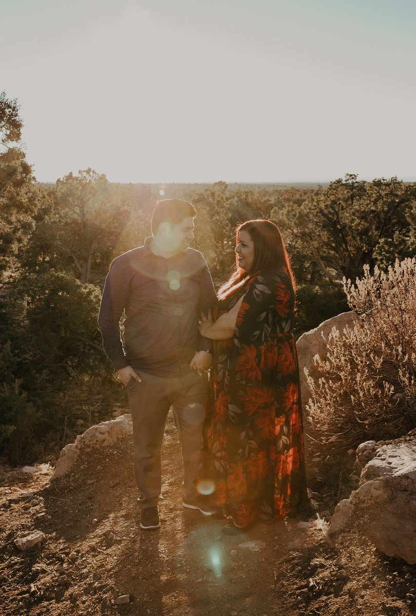 Stella shots media dreamy engagement photo destination in the mountains