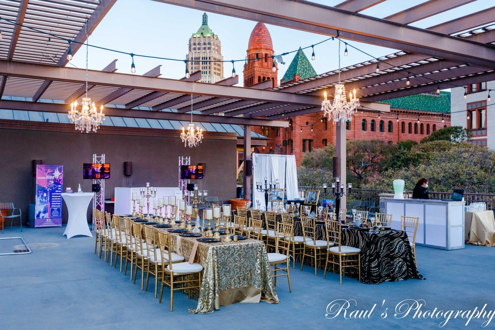 San Antonio Weddings, downtown wedding reception vendors