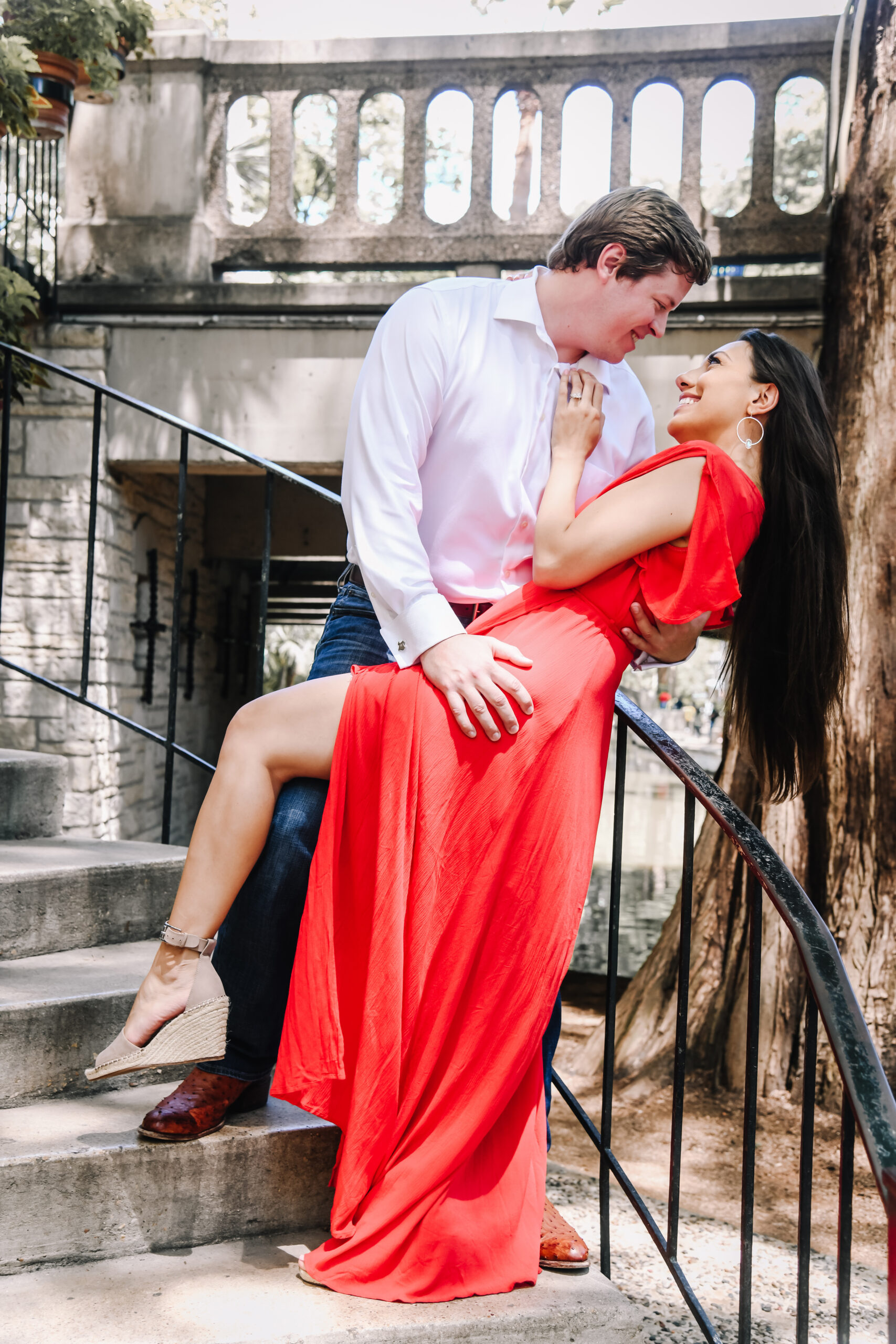 bridal babe Amanda Middleton on San Antonio Weddings