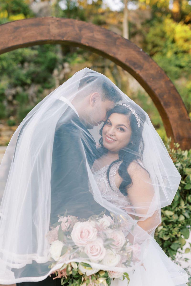 Gabriela and Xaxier's stunning outdoor wedding at Hidden Hills Remi's Ridge in San Antonio, TX