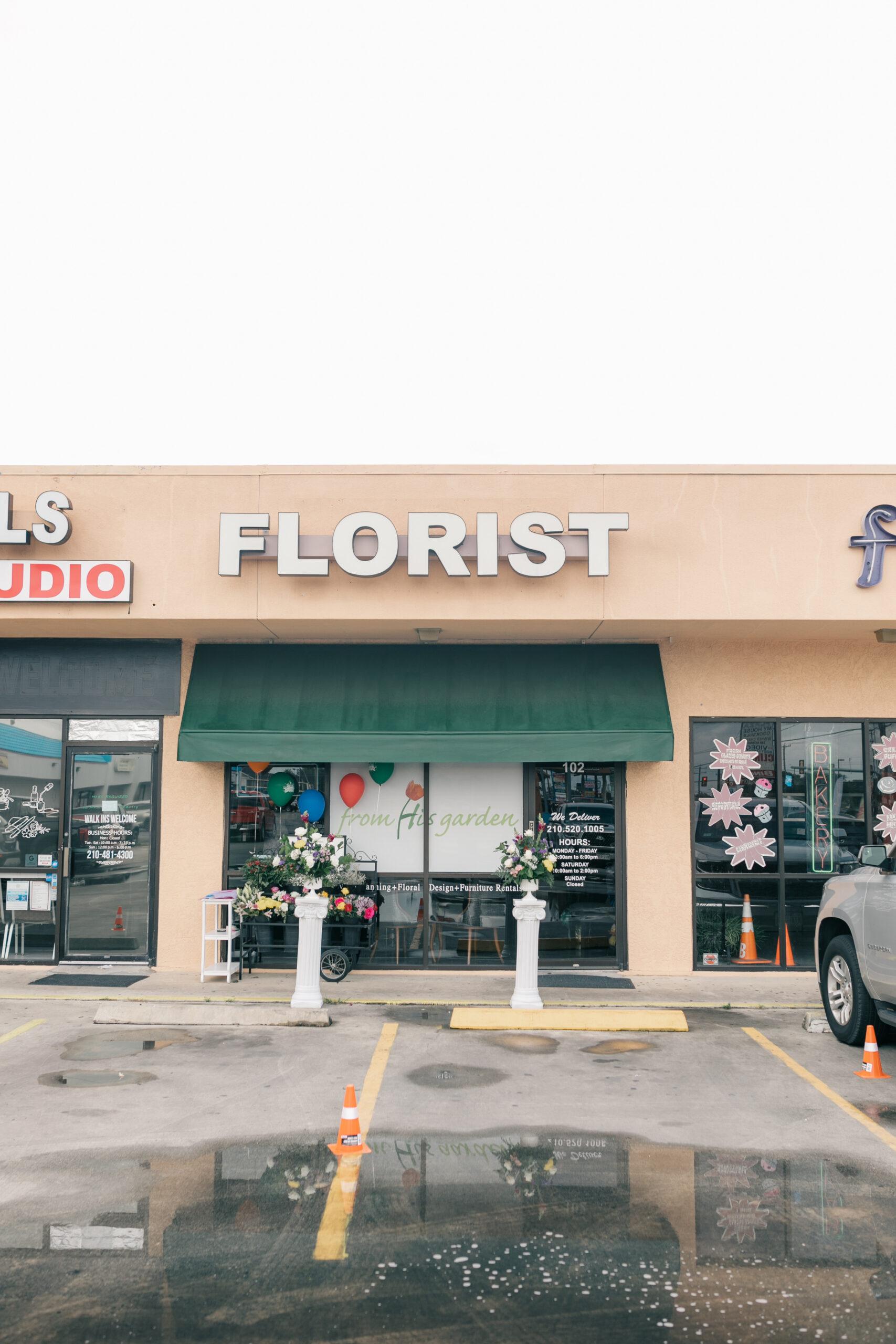 San Antonio flower shop