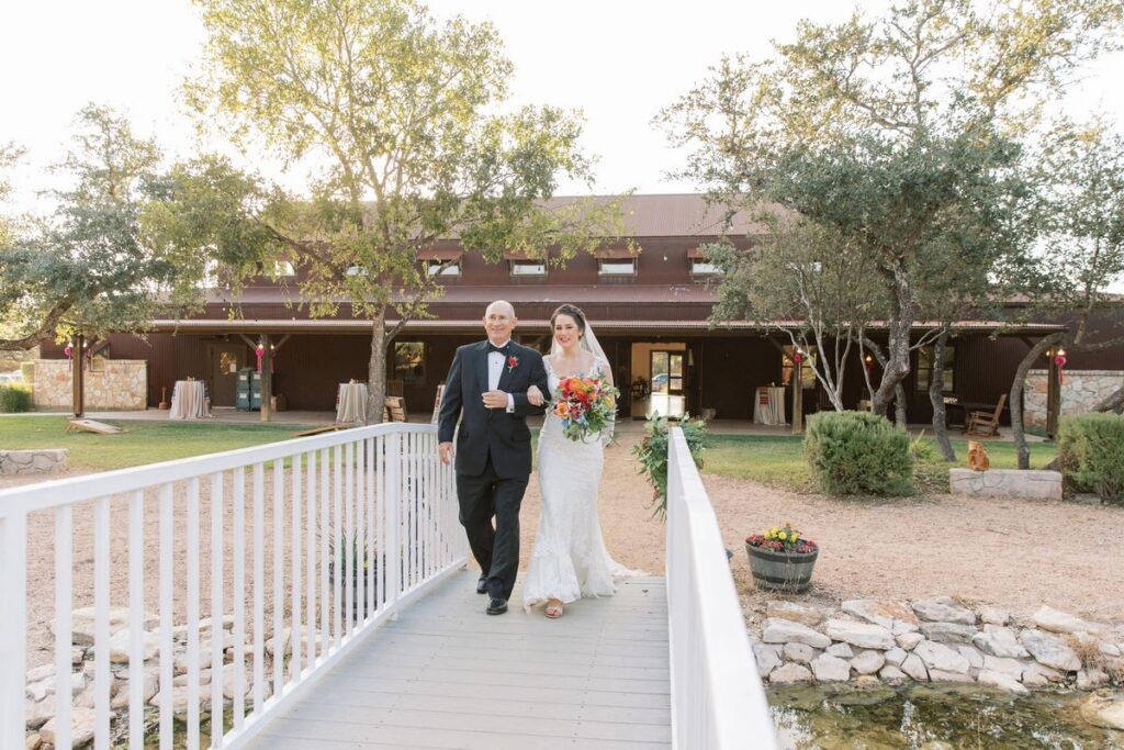 hill country wedding at western sky events in San Antonio texas