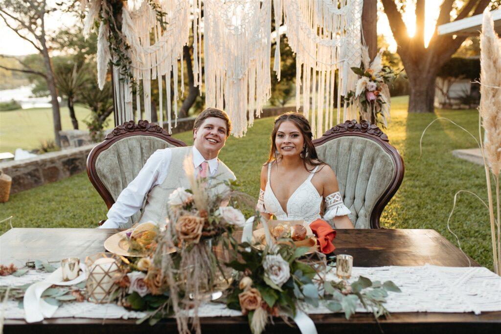 Morgan and Ty Flour and Bloom San Antonio Wedding