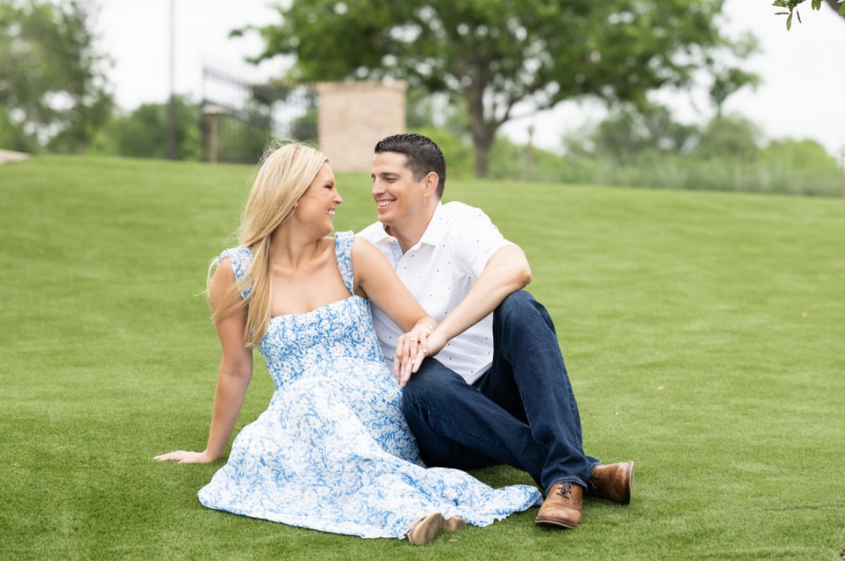 Kirsten and Austin's Engagement at The Red Berry Estate in San Antonio, Texas