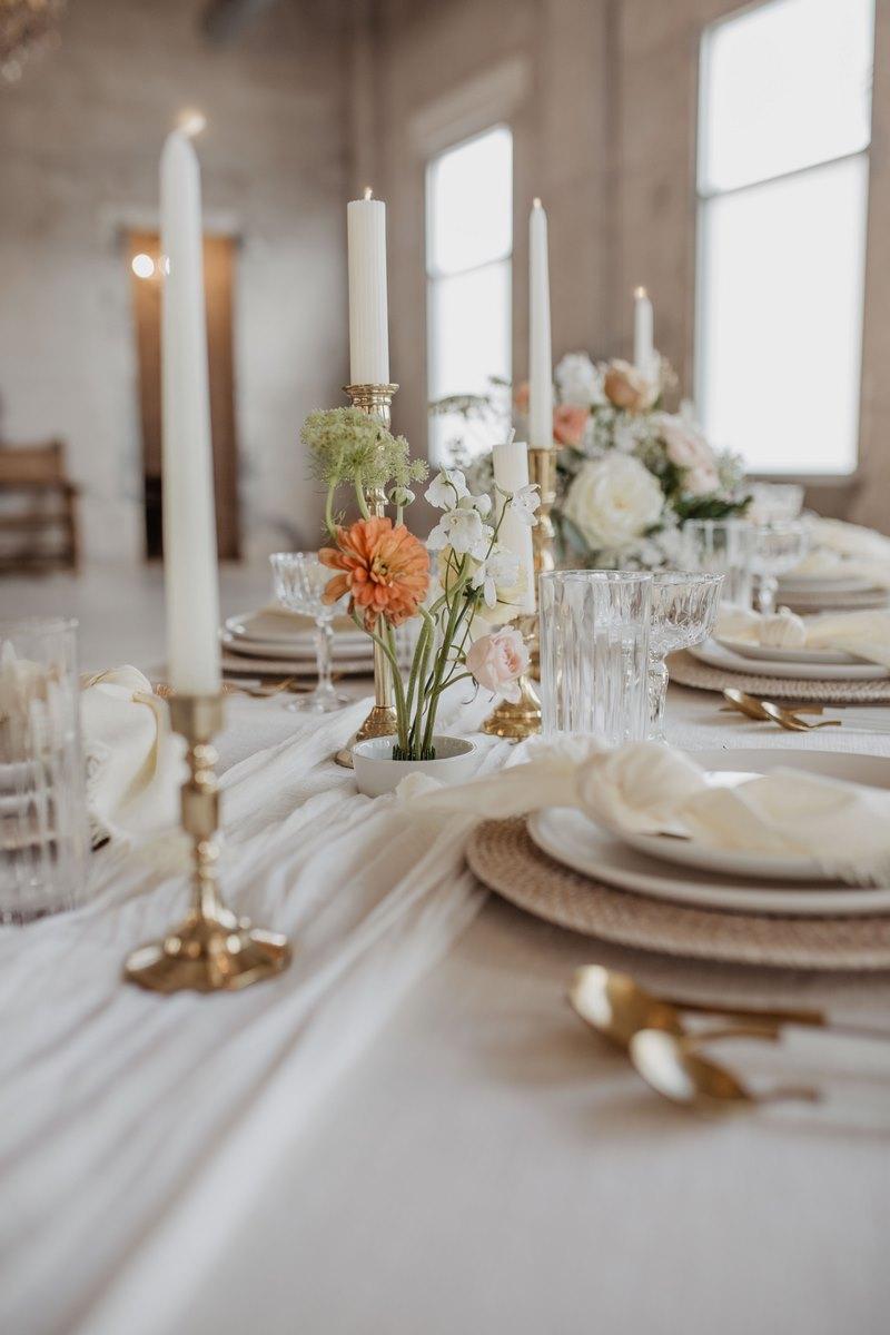 San Antonio wedding inspiration decor and table design