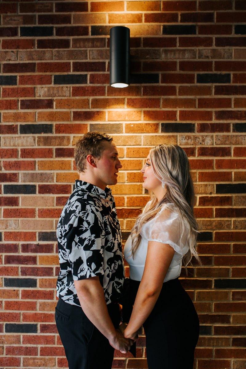 Regan and Nicholas' Norway Proposal leads them to Park 31 San Antonio Wedding
