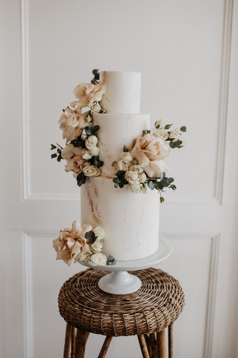 San Antonio Weddings Homestead Styled Shoot - Cake by Jane Dough Cakes