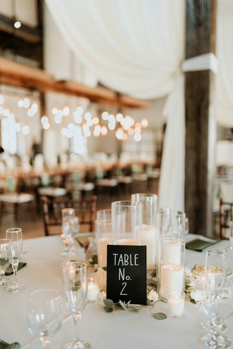 San Antonio Weddings couple, Alyssa and Brandon, wedding seating inspiration DIY