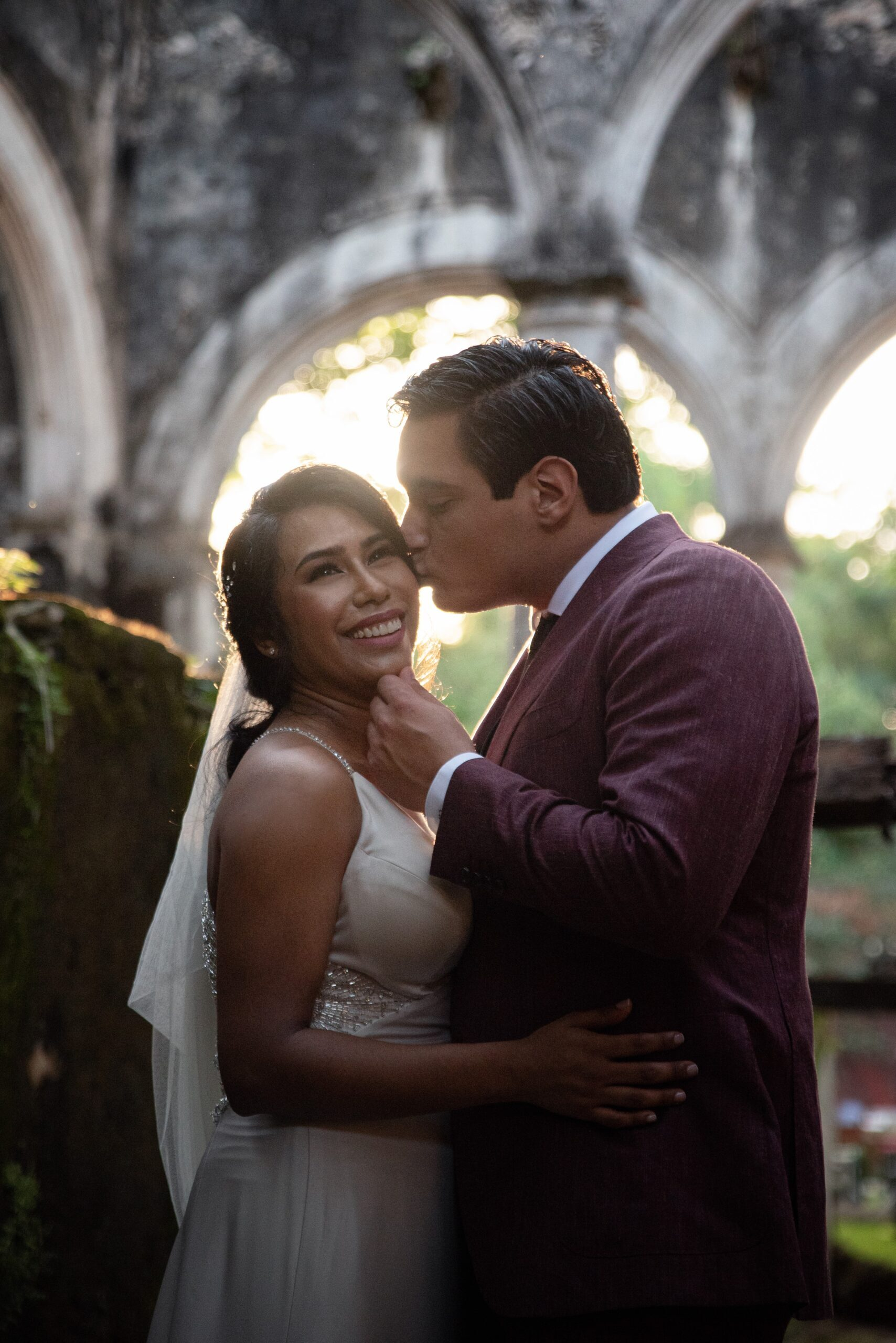 San Antonio Weddings couple, Raquel and Christian, destination wedding in the Mexican Jungle