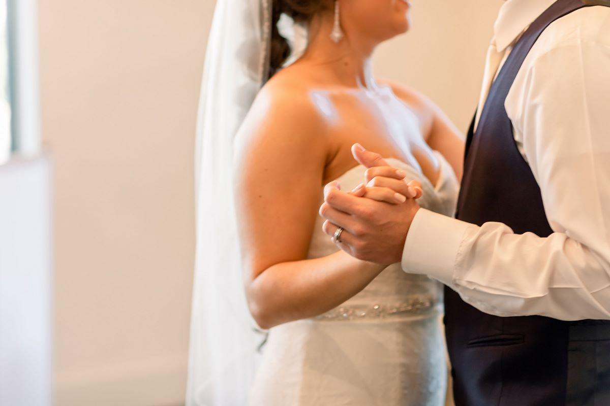 San Antonio Weddings Couple at Hayes Hollow
