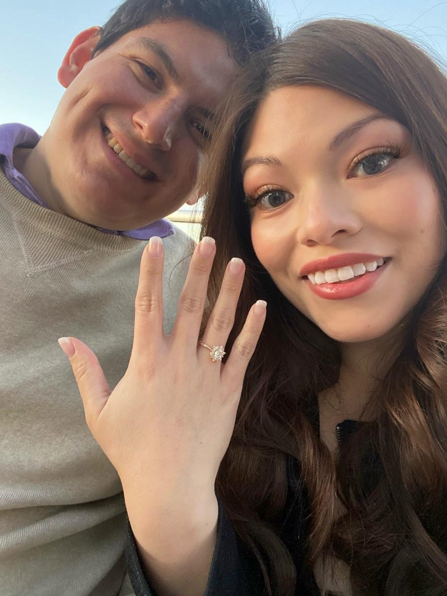 San Antonio Weddings couple, Dominique and Christopher #EngagedInSA