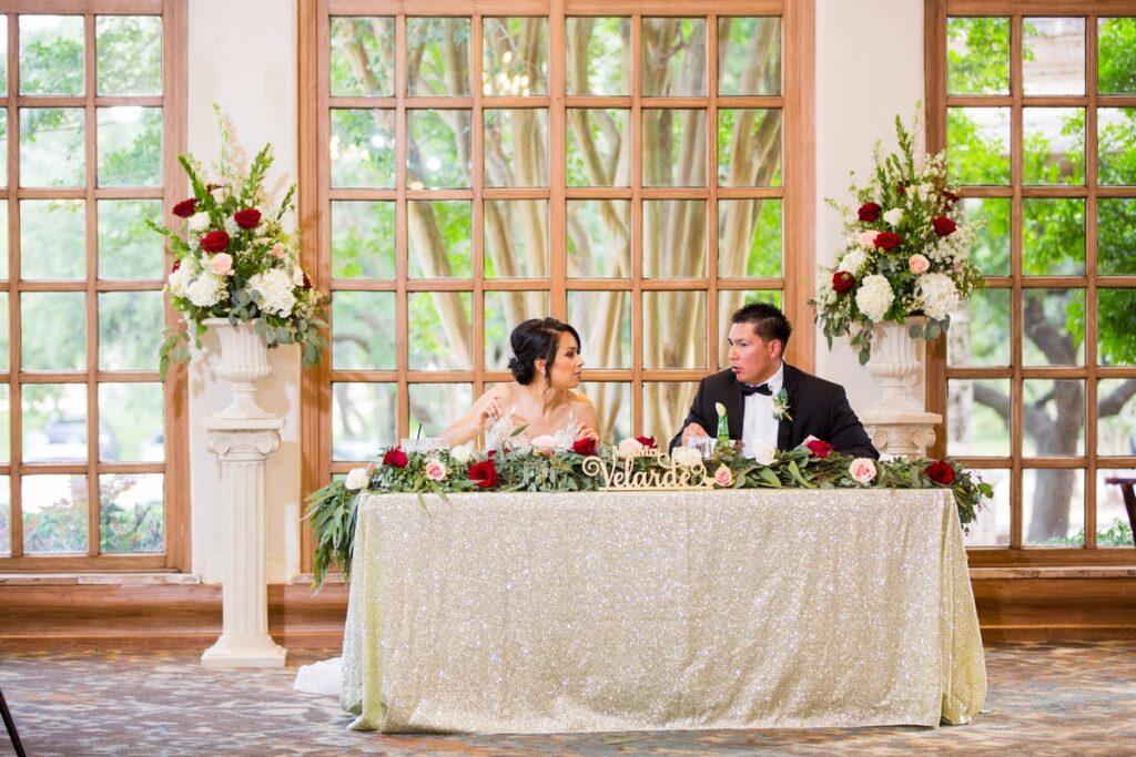 Melissa and AJ's elegant wedding at the Dominion Country Club in San Antonio, Texas