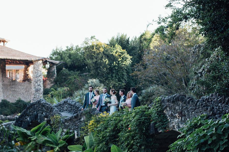 Wedding Venues with a Bridge in San Antonio, Texas