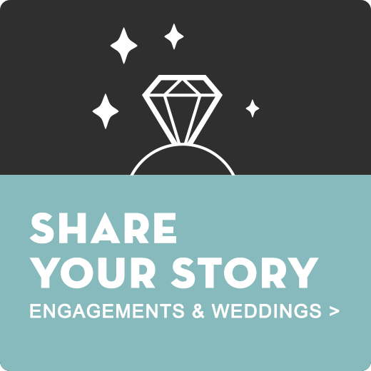Share your engagement and wedding photos and story with San Antonio Weddings
