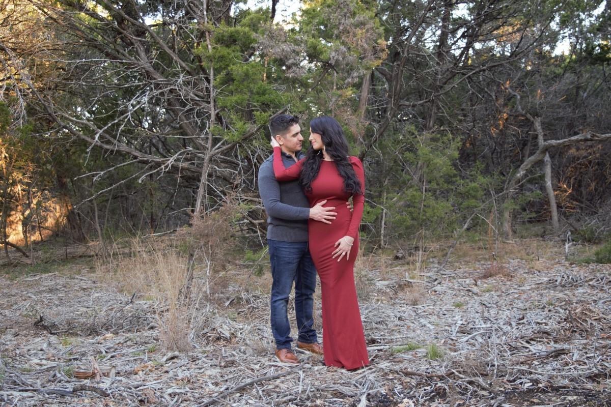 recently engaged couple San Antonio Texas