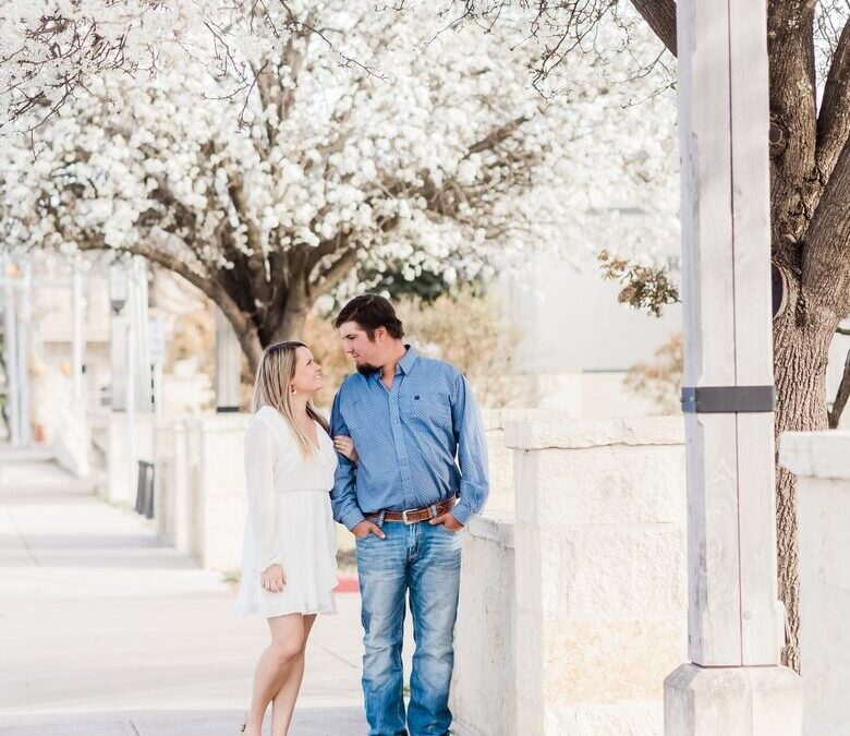 Katerina and Blake's Hill Country Love Story
