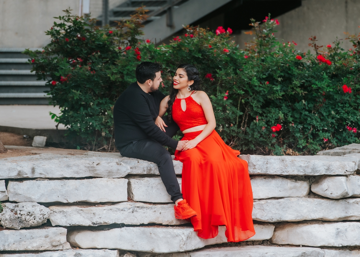 Engagement at the Pearl in San Antonio