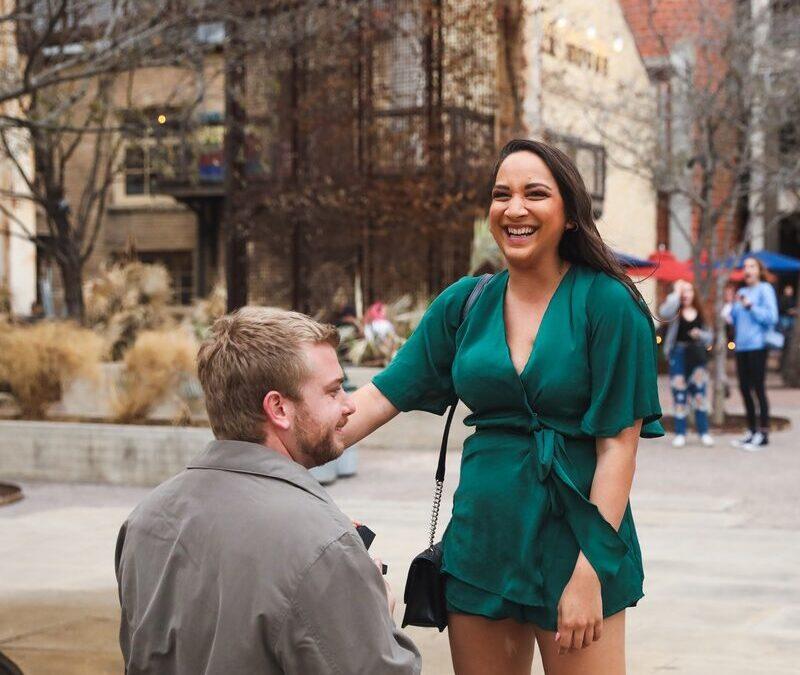 Garrett's Perfect Proposal to Rebecca at The Pearl