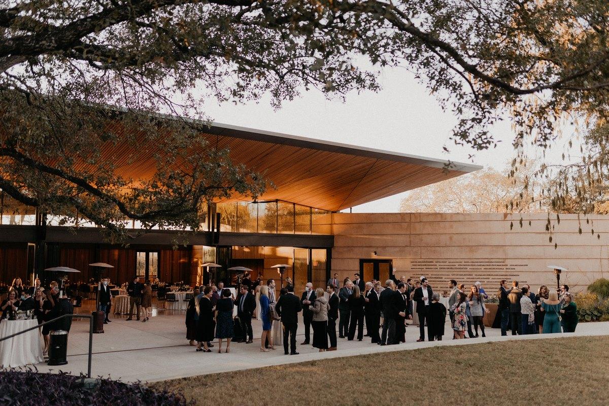 texas wedding venue San Antonio botanical gardens