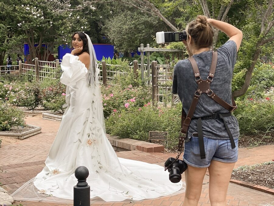 Behind the Scenes of A Sustainable Styled Shoot
