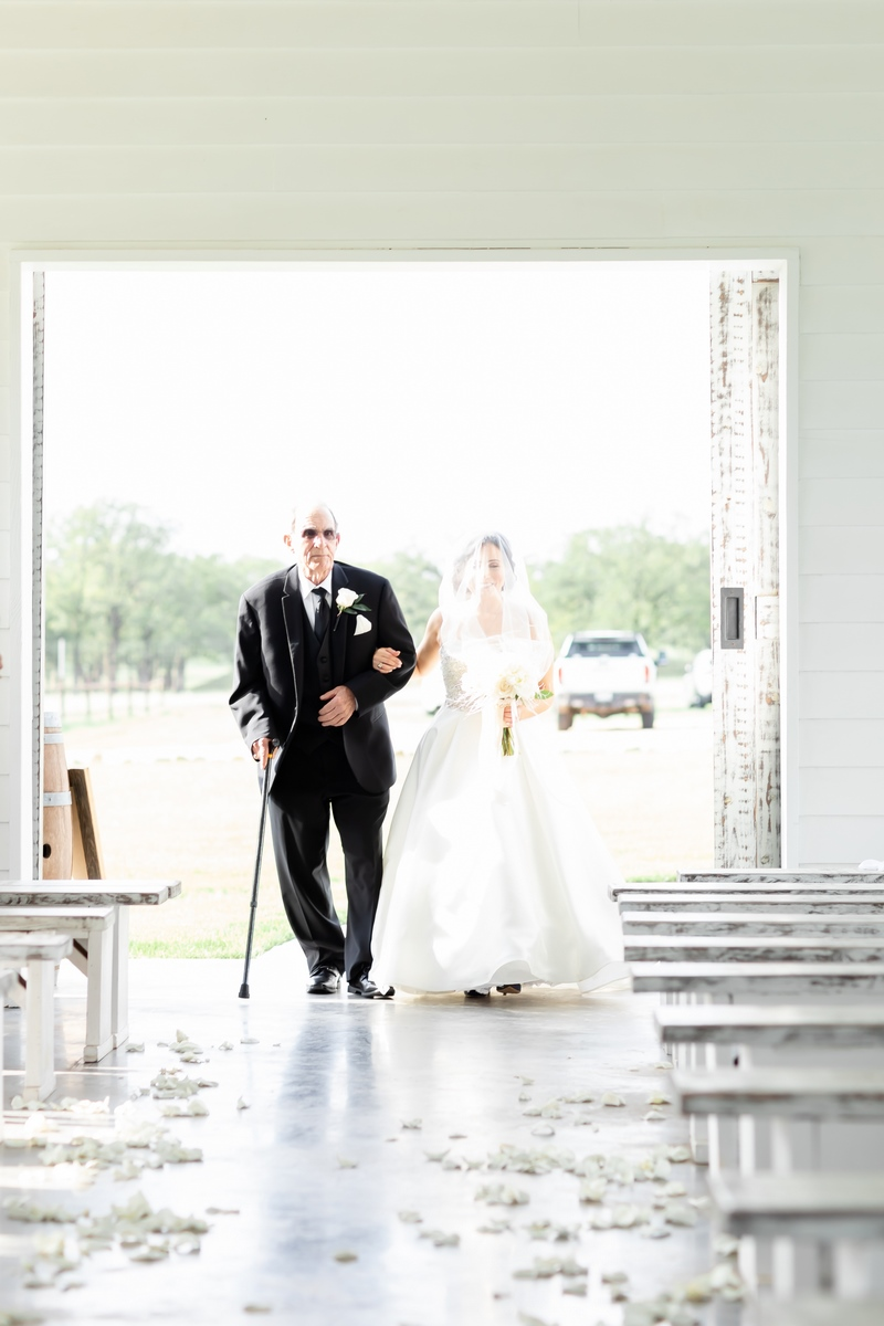 Dr Wendee PAyne Walking down the aisle