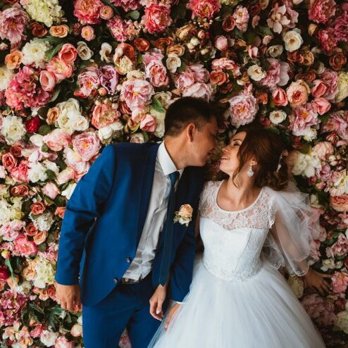 Floral Walls are the New Wedding Must Have