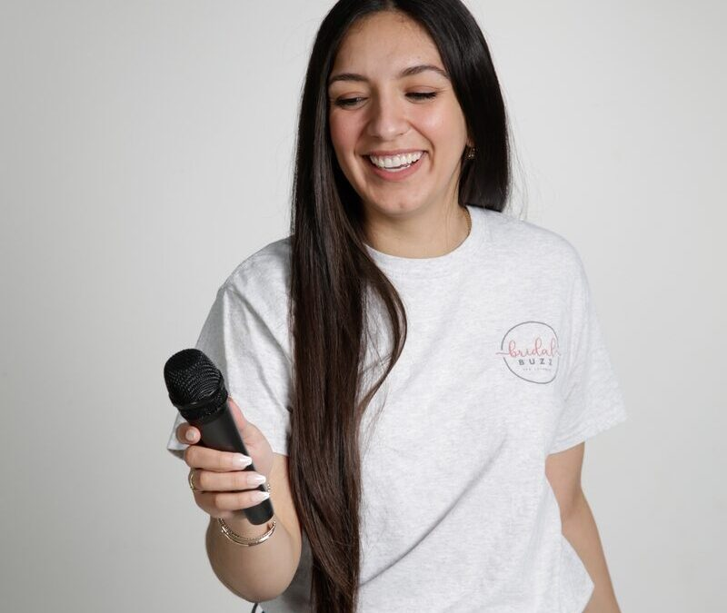 Meet the host of the Bridal Buzz podcast Erika Perez
